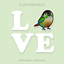 LOVE Bird - Choose Your Bird Vinyl Decal