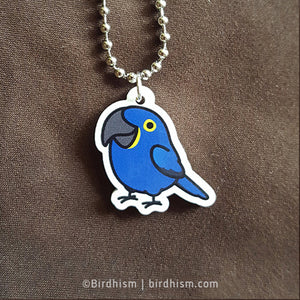 Chubby Hyacinth Macaw Necklace
