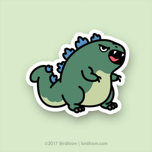 Chubzilla Stickers