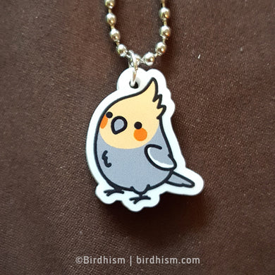 Chubby Cockatiel Necklace