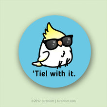 Tiel with it - Chubby Scootaloo, Special Needs Cockatiel Stickers