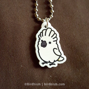 Chubby Umbrella Cockatoo Necklace
