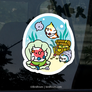 Merbird Stickers