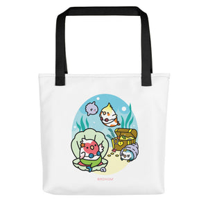 Merbird Beach Tote Bag