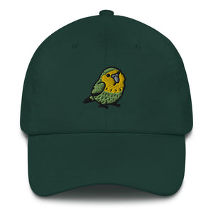 Kakapo Embroidered Hat