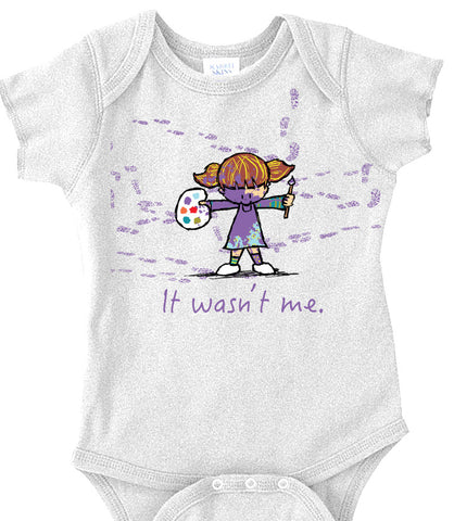 """It Wasn't Me"" Onesie"