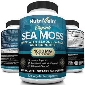 A Deep Dive Into Our Organic Sea Moss Capsules