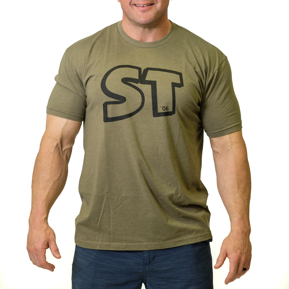 ST Track Shirt Green - Image 01