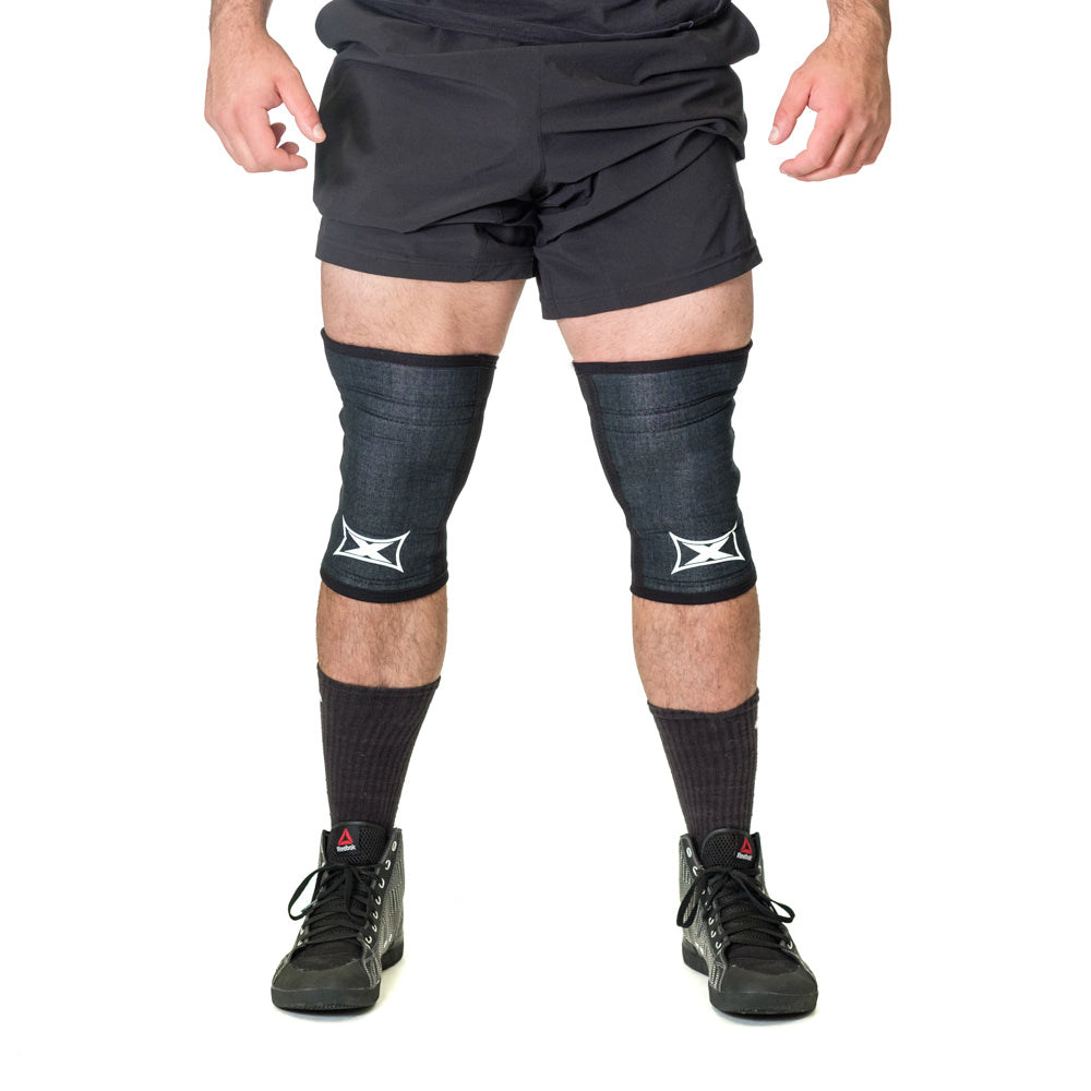 "Grippy ""X"" Knee Sleeves - Image 04"