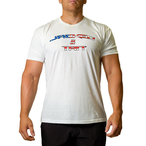 America Jacked & Tan Shirt