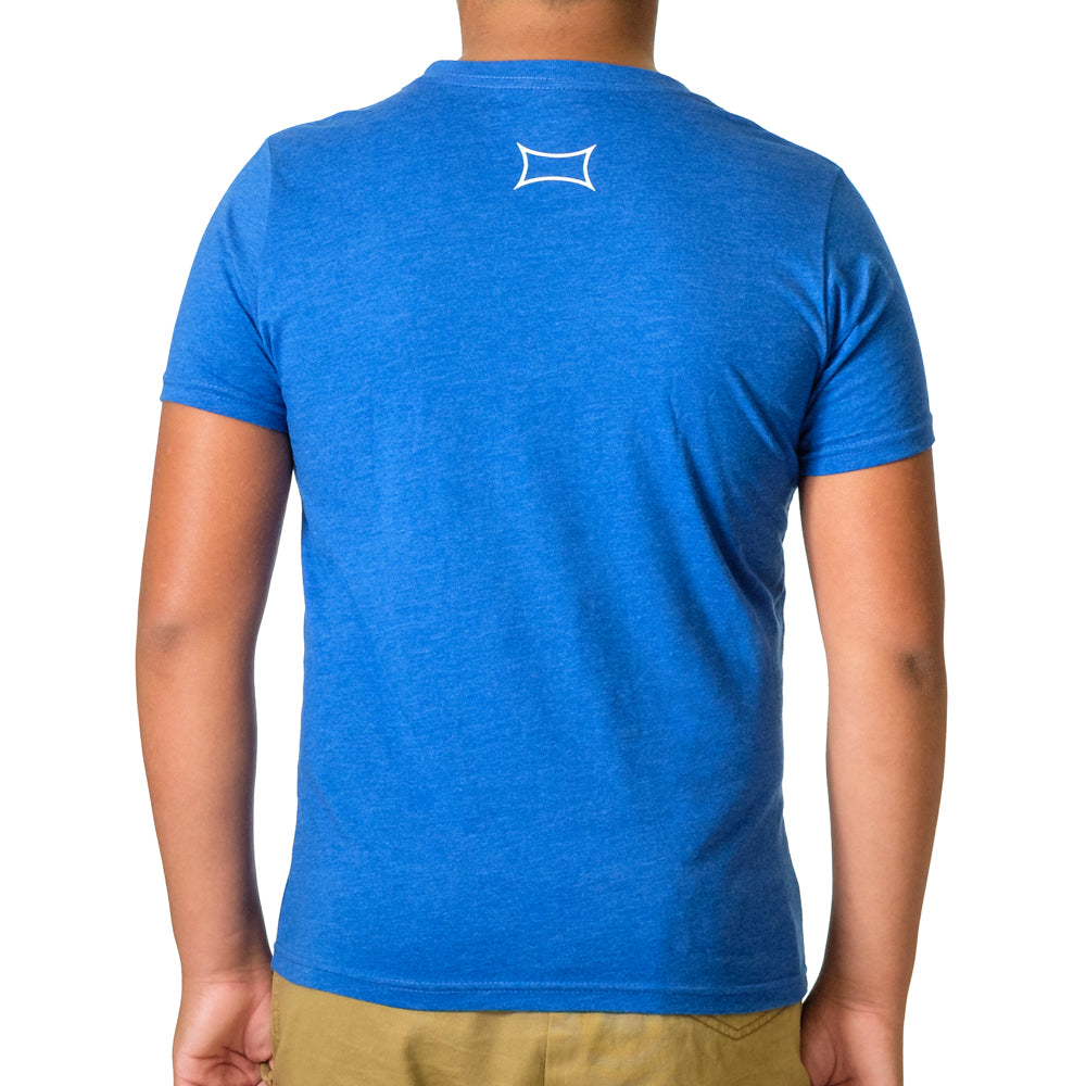 Youth POWER Shirt Blue - Image 03