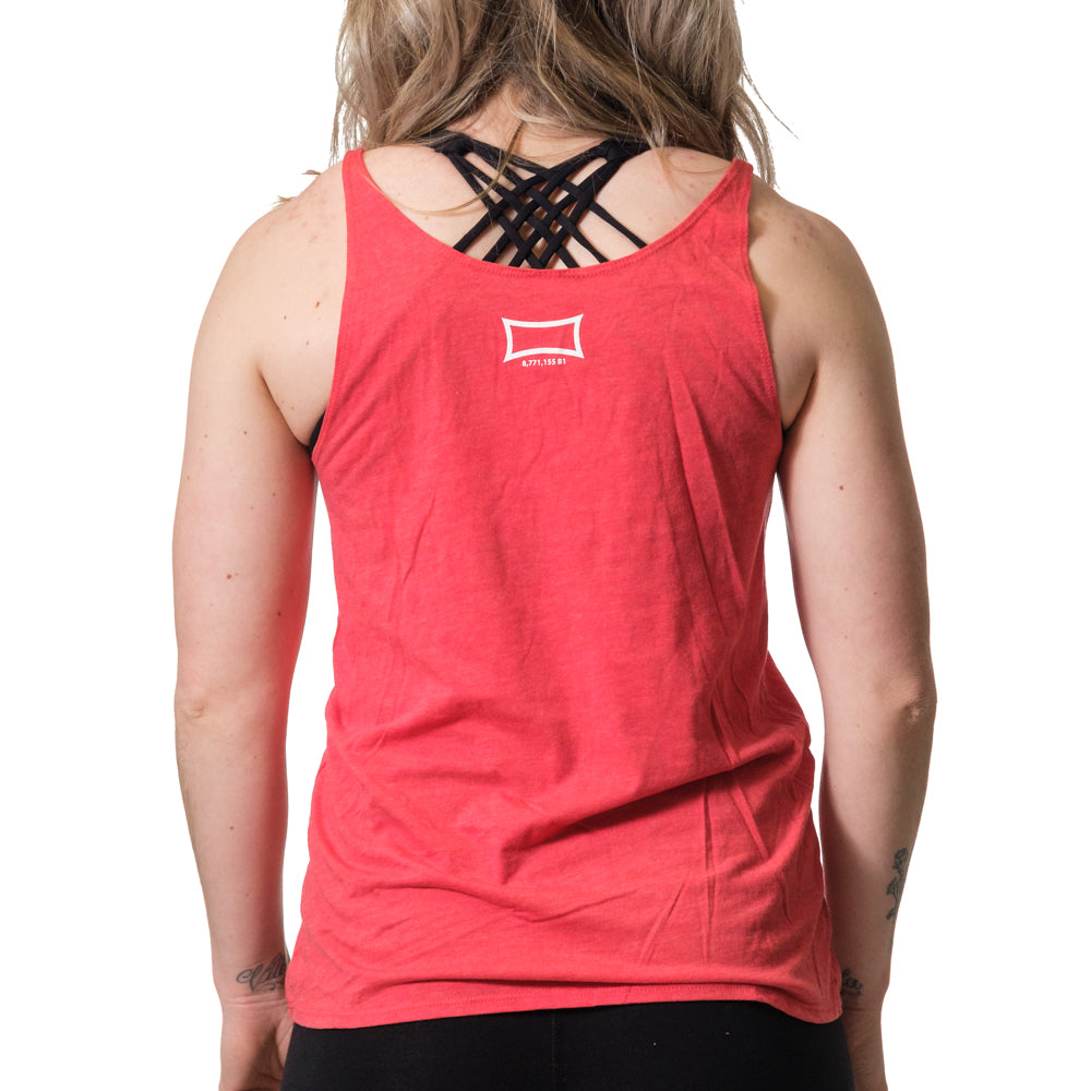 Women's Jacked and Tan Flowy Tank Red - Image 03