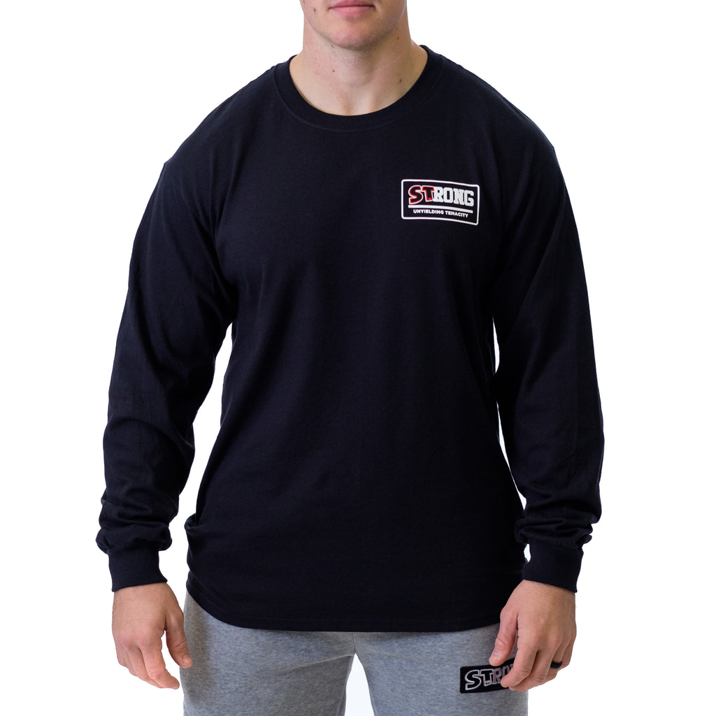 Box Logo STrong Long Sleeve - Mark Bell - Sling Shot