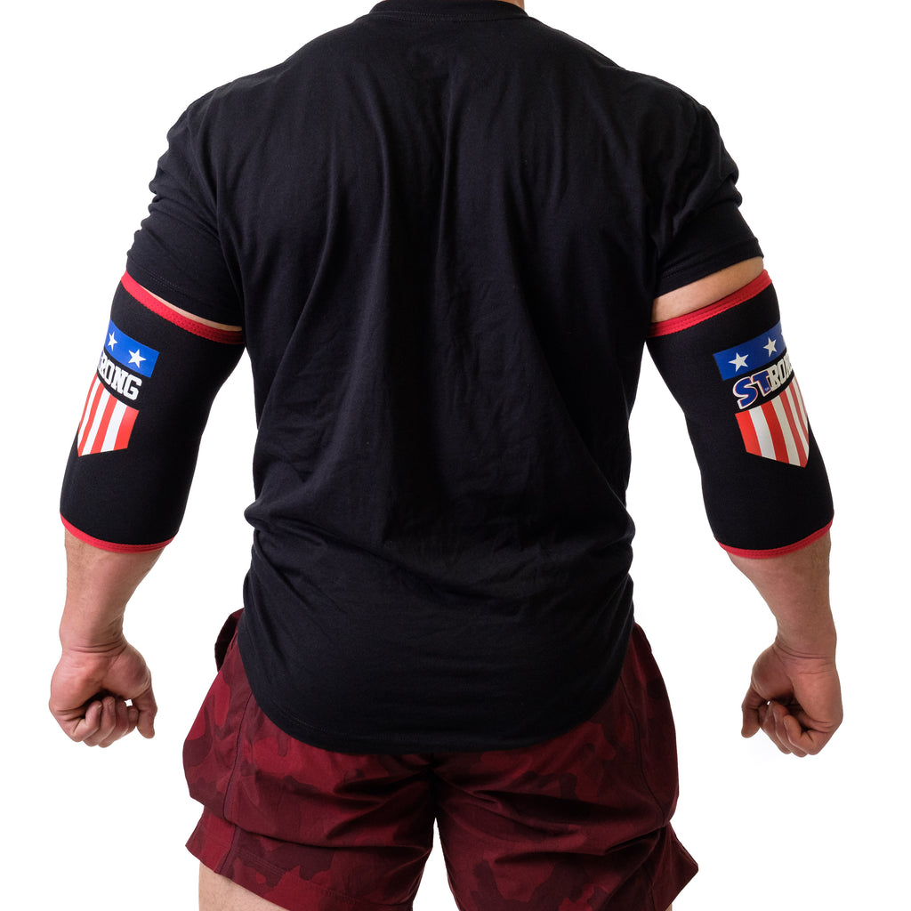 MB3 USA STrong Elbow Sleeves - Image 03