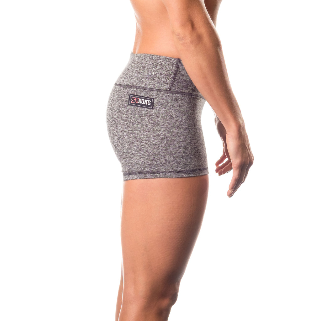 Essential STrong Shorts Grey - Image 02