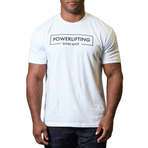 LT Powerlifting Tee White - Image 01