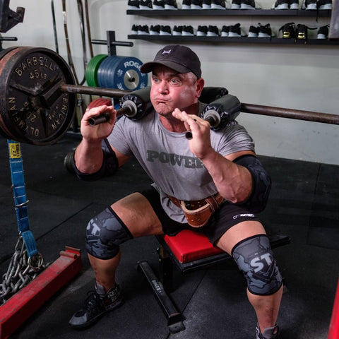 MB2 STrong Knee Sleeve - Mark Bell - Sling Shot