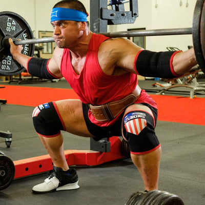 MB3 USA STrong Knee Sleeves - Image 05