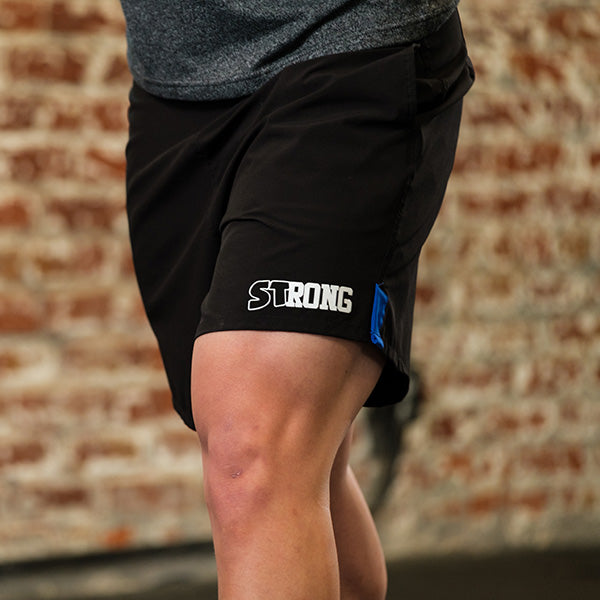 Men's STrong Shorts Blue - Image 01