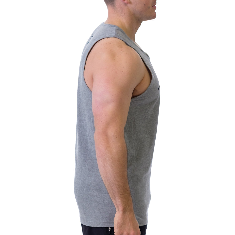 Men's Jacked & Tan Tank Grey - Image 02