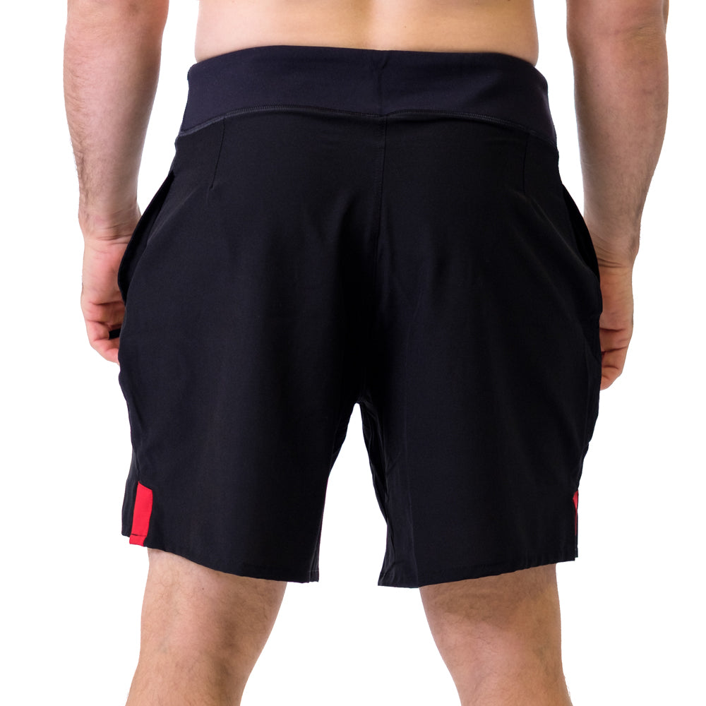Men's STrong Shorts Red - Image 03