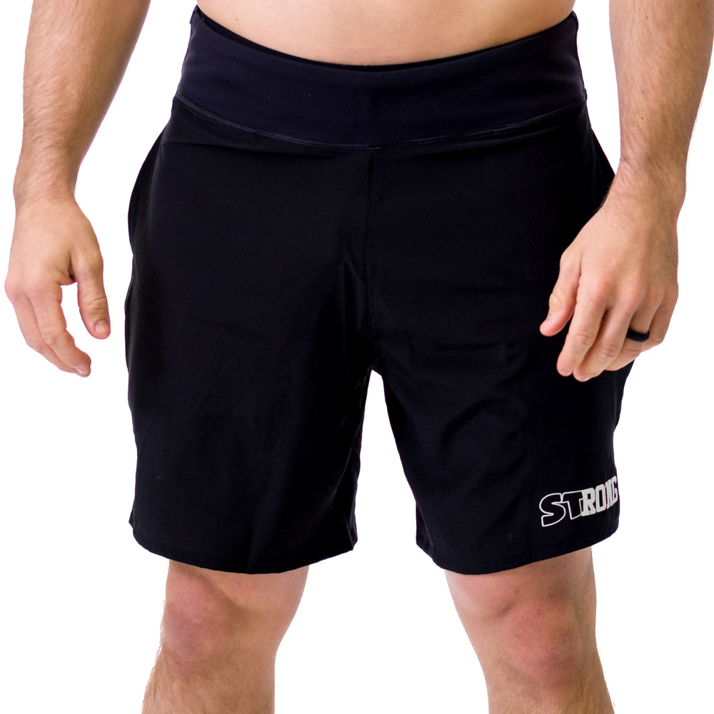 Men's STrong Shorts Red - Image 01