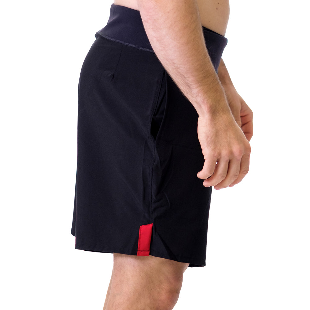 Men's STrong Shorts Red - Image 02