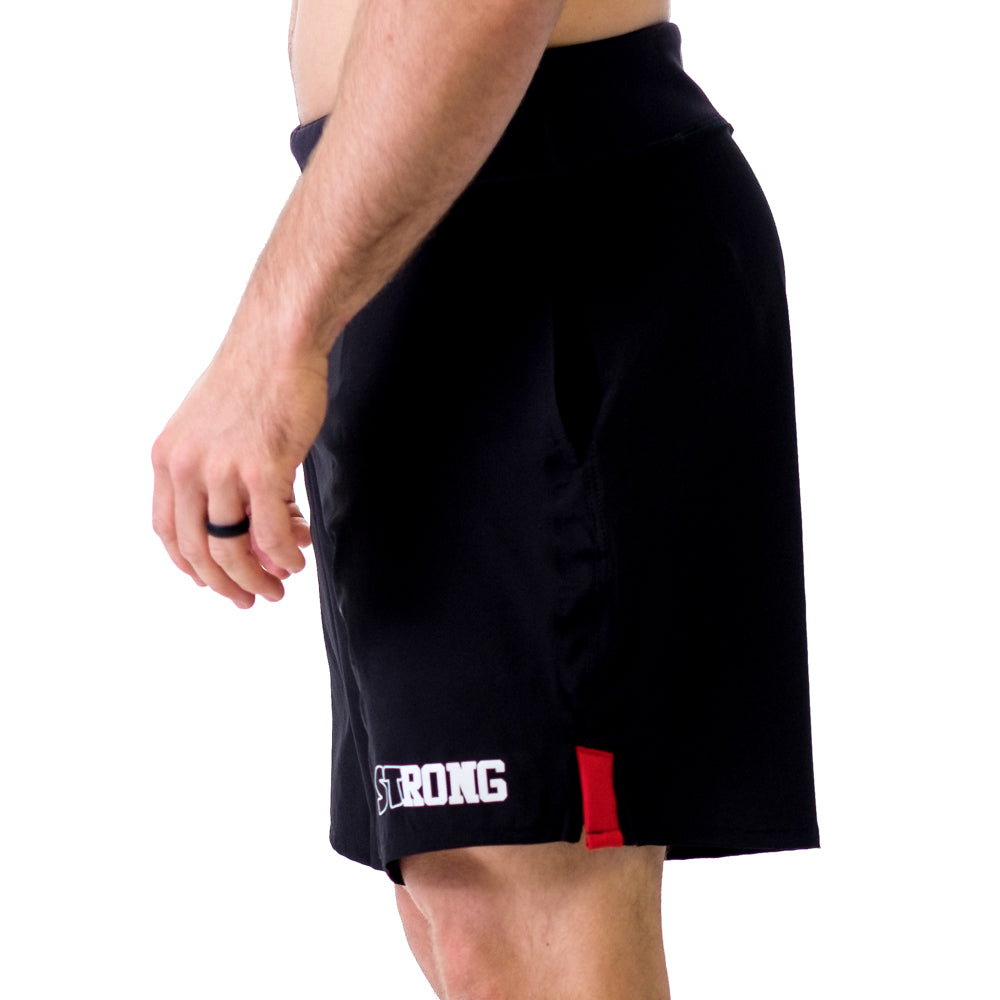 Men's STrong Shorts Red - Image 04