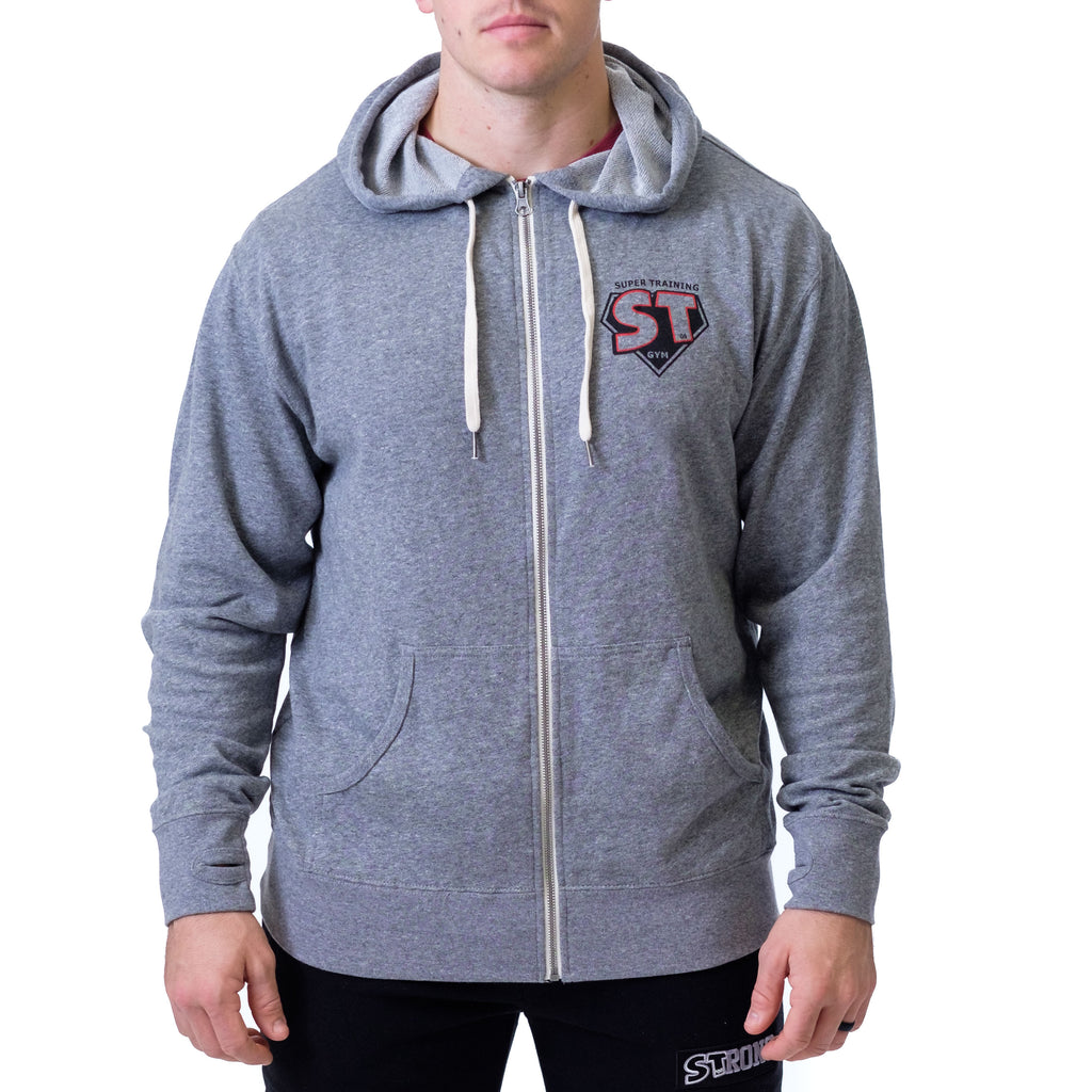 Men's Zip Hoodie - Mark Bell - Sling Shot