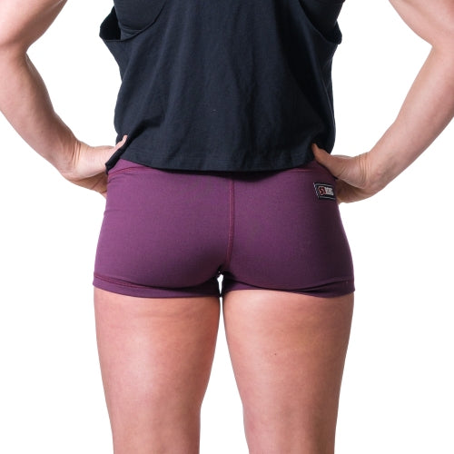 Essential STrong Shorts Plum - Image 03