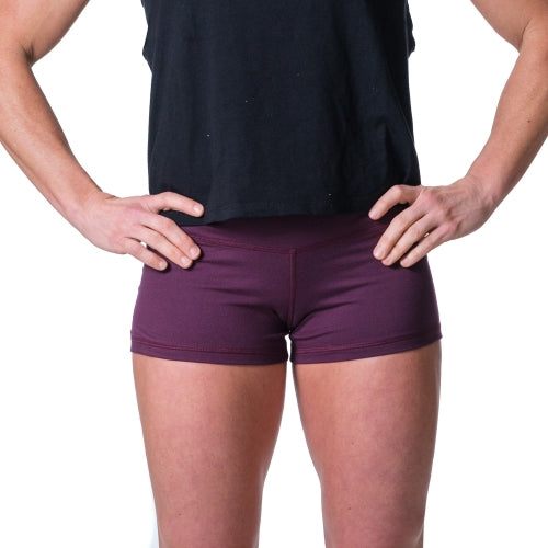 Essential STrong Shorts Plum - Image 01