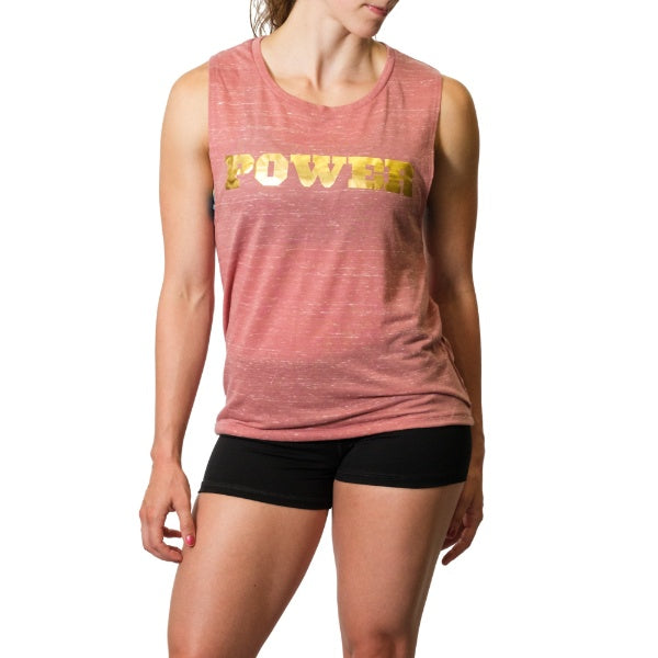 Women's POWER Muscle Tank - Image 01