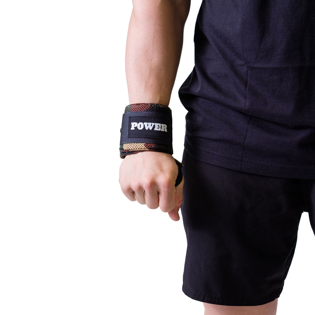 Power Wrist Wraps Camo - Image 01
