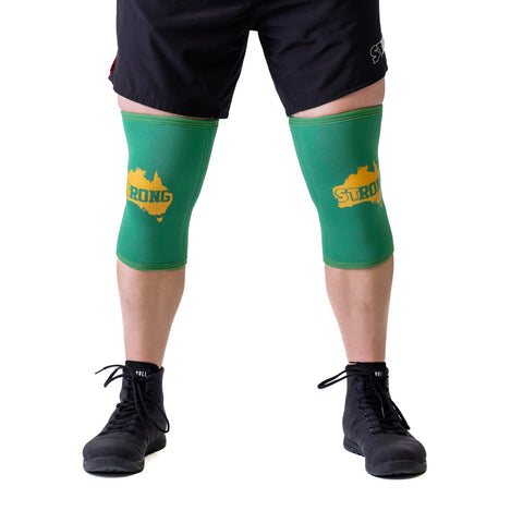Australia STrong Knee Sleeves - Mark Bell - Sling Shot