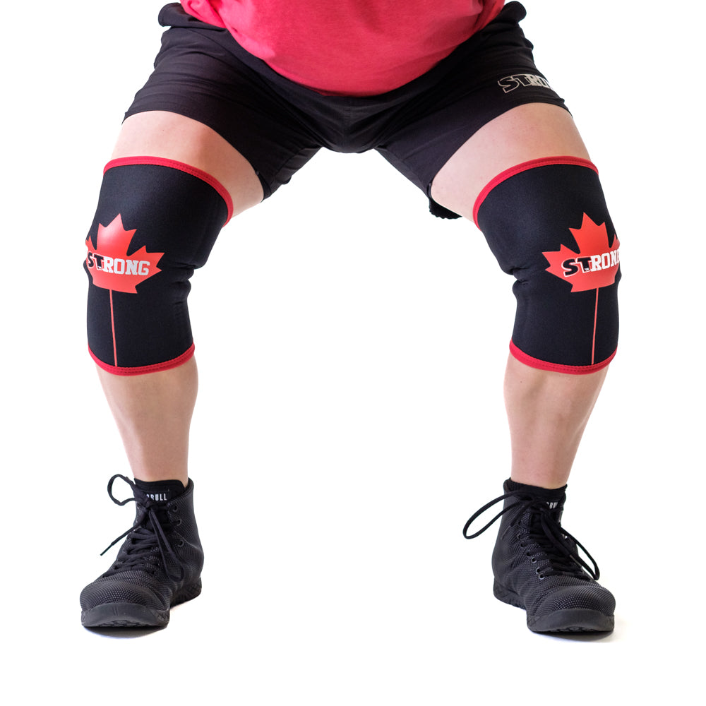 bad56bcbeb ... Canada STrong Knee Sleeves - Mark Bell - Sling Shot ...