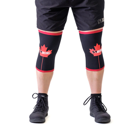 Canada STrong Knee Sleeves