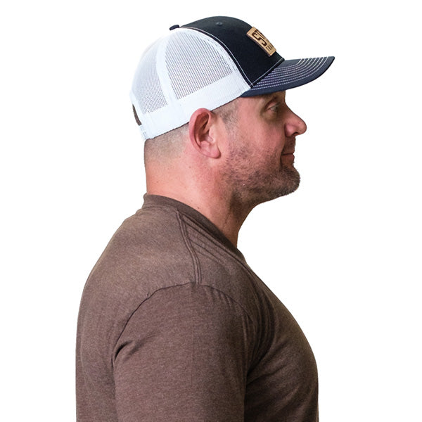 Sierra Trucker Hat Navy/White - Image 02
