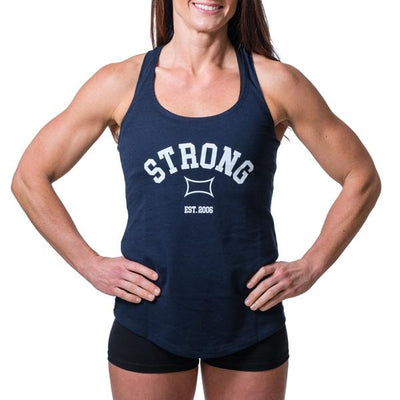 Women's STate of Mind Tank Navy - Image 01