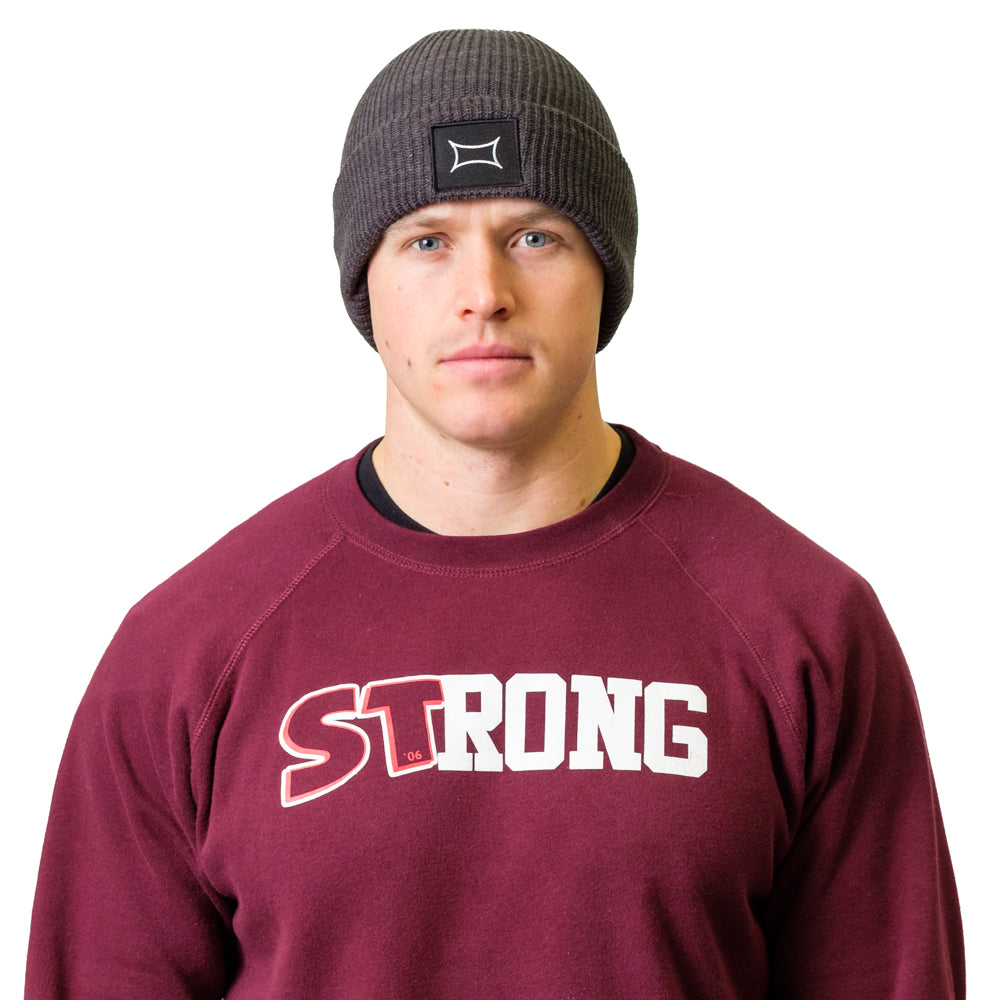 Web Patch Beanie - Mark Bell - Sling Shot