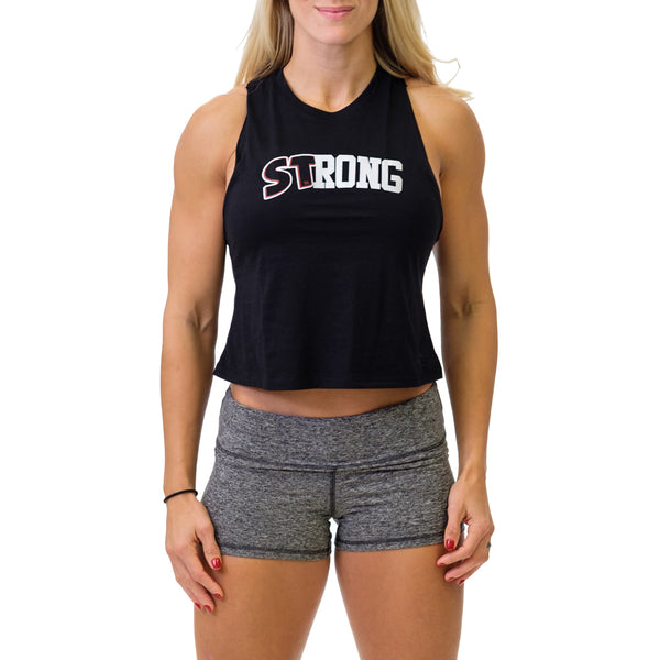Women's STrong Crop - Mark Bell - Sling Shot