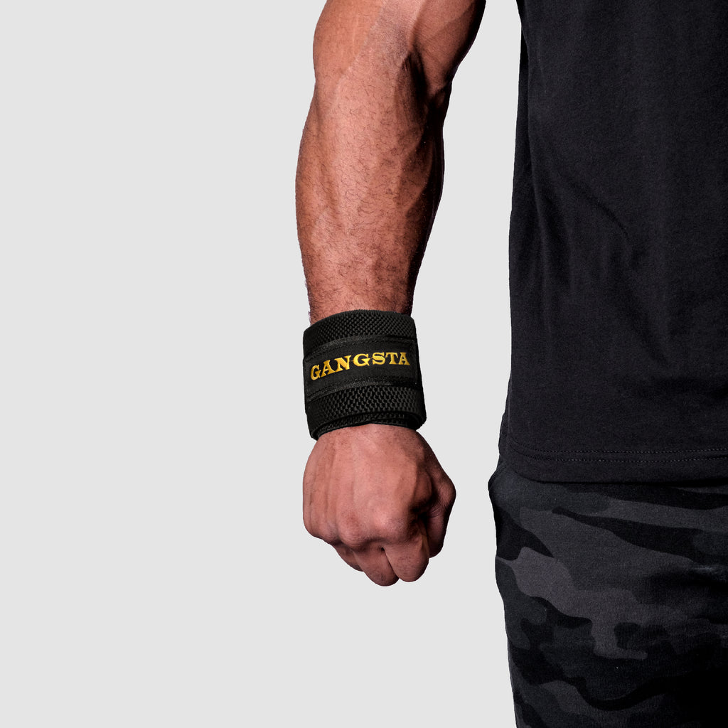 Gold Series: Gangsta Wrist Wraps®