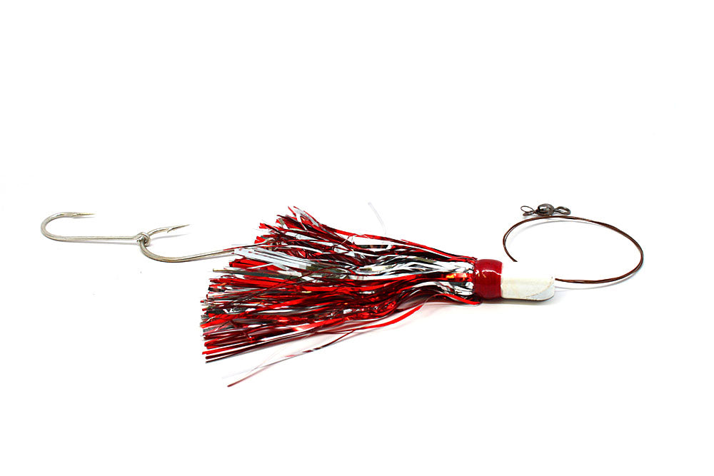 Bomber J Duster King Rig, 1 oz., Red/Silver