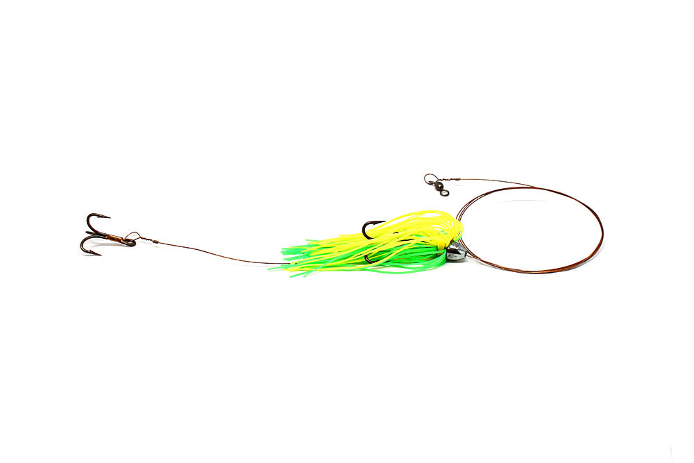 Boone Duster Rig, Green/Chartreuse