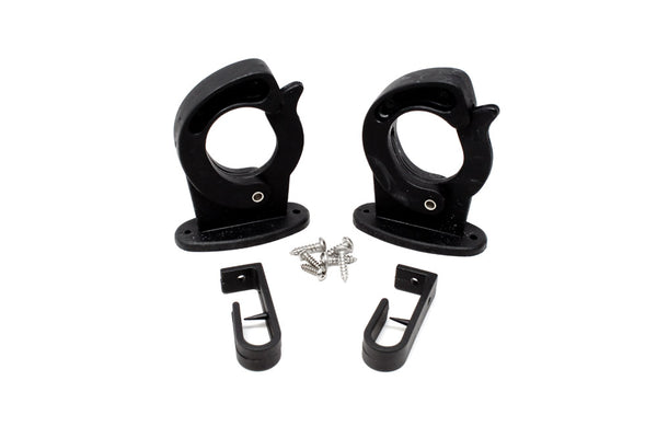 Blacks Sure-Lok Rod Hanger Black 2 Pk.