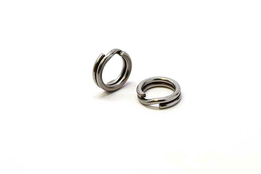 Owner 5196-054, HyperWire Stainless Split Ring, Size 5, 60 lb. -  10PK