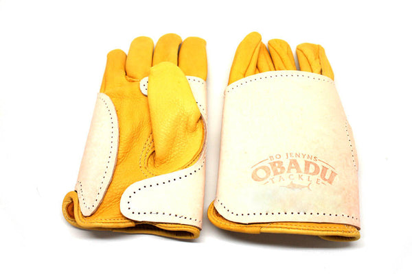 Obadu Medium Weight 100% Leather Wiring Gloves