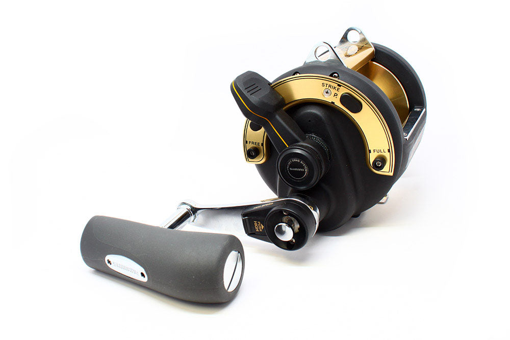 Shimano TLD-50IILRSA Lever Drag, 2 Speed Reel