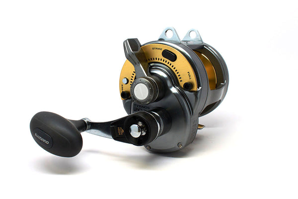 Shimano Tyrnos 20 2 Speed Lever Drag Reel