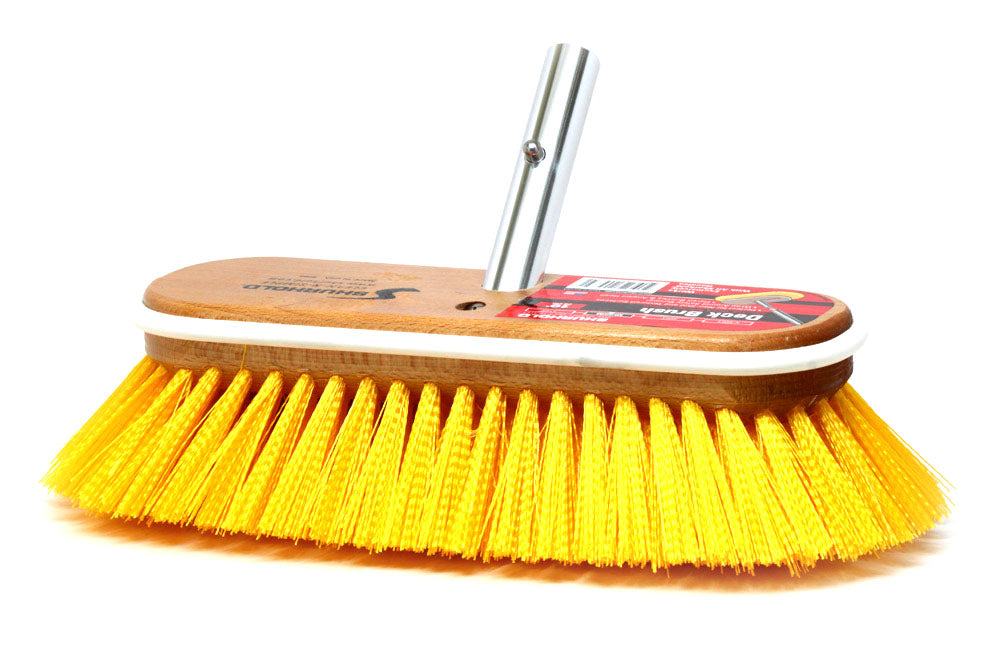 "Shurhold 985 10"" Medium Stiff Deck Brush"
