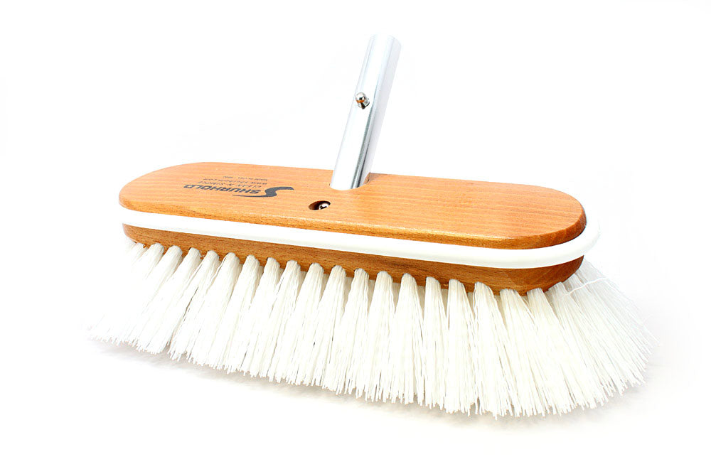 "Shurhold 990 10"" Maximum Stiff Deck Brush"